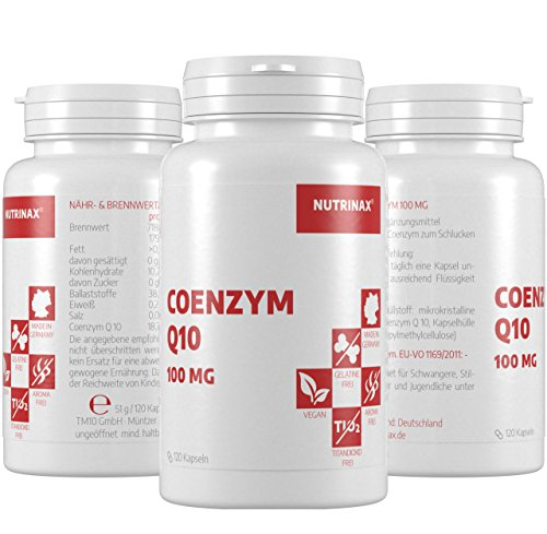 Coenzym Q10 100mg – 120 Kapseln hochdosiert 100mg für 4 Monate – Made in Germany – vegan – ohne Magnesiumstearat - 3