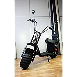 SABWAY® Patinete ELÉCTRICO Chopper | Scooter 1000W Brushless