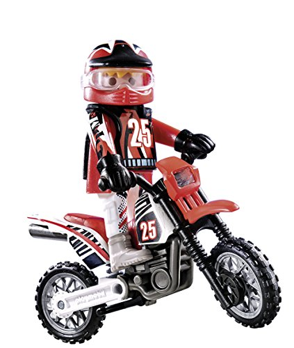 Playmobil Pilote de Motocross, 9357
