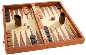 philos 2520 schach backgammon dame set feld 50 mm k nigsh he 88 mm spielzeug. Black Bedroom Furniture Sets. Home Design Ideas