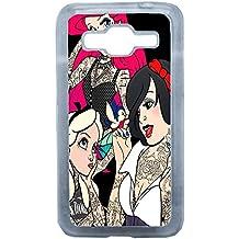 Lapinette COQUE-CORE-PRIME-TRI - Funda para Samsung Galaxy Core Prime, diseño Princesa Disney Tatuada 2