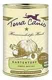 Terra Canis vegetarischer Gartentopf, 400g Dose (6 Pack)