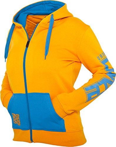 "Urban Classics Hoodie: ""Dance Zip"" dans de nombreux coloris Orange"