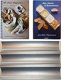 PXL-Set Baguetteblech + 2 Bücher: All about Baguettes+Dips, Saucen & Brotaufstriche aus- mit dem Thermomix TM21 TM31 TM5 …