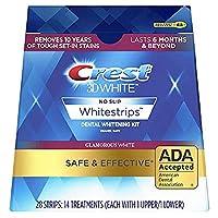 Crest 3D White No Slip Whitestrips Dental Whitening Kit - 28 Strips