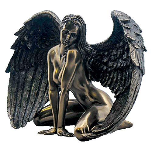 Nemesis Now Figur Engel Passion, 17,5 cm, Bronze, Kunstharz, Einheitsgröße -
