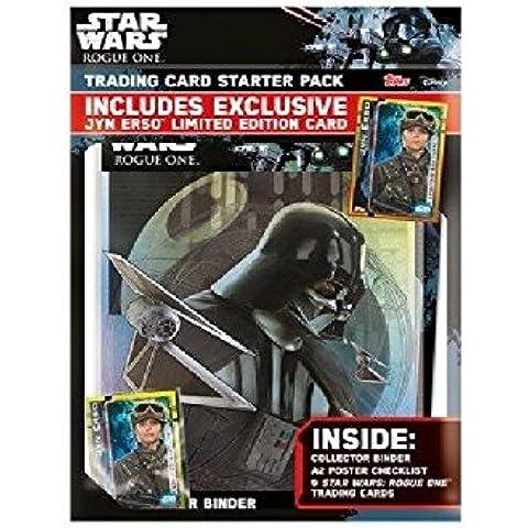 Topps Star Wars Rogue Una Tarjeta De Comercio De Arranque Del álbum Pack (Versión Inglés)
