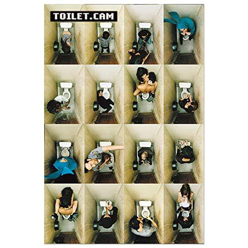 Poster Toilet.cam - Dinge, die Man auf dem Klo TUT (Cami Unter)