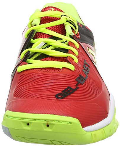 Asics Gel-Blast 6, Scarpe sportive, Uomo Chinese Red/Flash Yellow/Black 2307