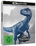 Jurassic World Fallen Kingdom Steelbook 4k Uhd+Bluray 2018 Region Free Available Now (import)