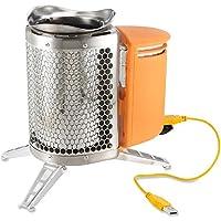 Biolite Campstove Caricabatteria a Biomassa, Acciaio, Unica - Portable Grill All'aperto