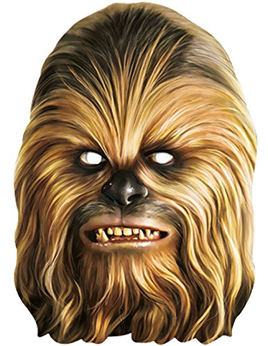 Fancy Ole - Star Wars Chewbacca Maske, - Erwachsene Halloween-kostüme Für Kreative