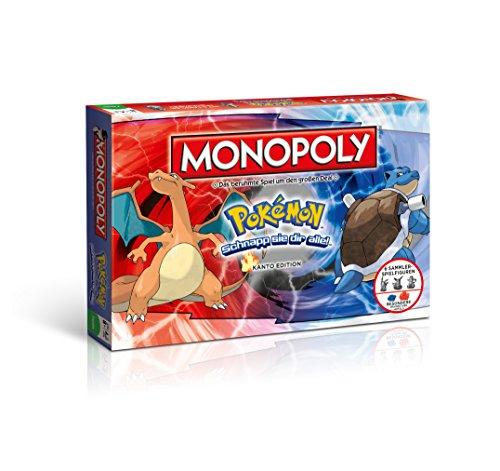 Monopoly Pokémon Kanto Edition - Schnapp sie dir alle! | Gesellschaftsspiel | Familienspiel | Spielklassiker | (Pokemon Brett Spiel)