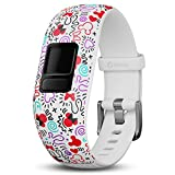 Garmin 010-12666-10 - Pulsera de Minnie Mouse ajustable para Vivofit jr. 2