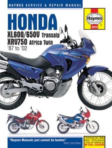 Haynes manuals inc the best amazon price in savemoney honda xl600650v and xrv750 africa twin haynes service and repair manuals fandeluxe Choice Image