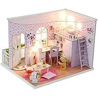 Somedays Wooden Schlafzimmer   Puppen Haus Möbel Und Zubehör   Gebäude  Puzzle Woodcraft Bau Kit