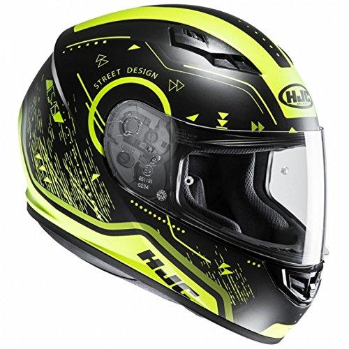 HJC CS-15 - SAFA / MC4HSF - Integralhem/Sporthelm/Motorradhelm, GröàŸe:XXL