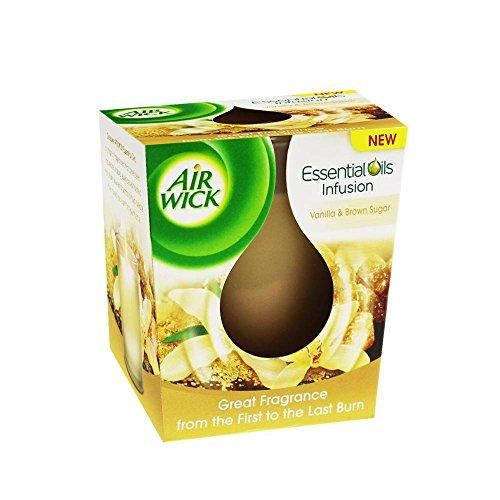 Airwick Duftkerze Essential Oil Vanille&brauner Zucker / 105g