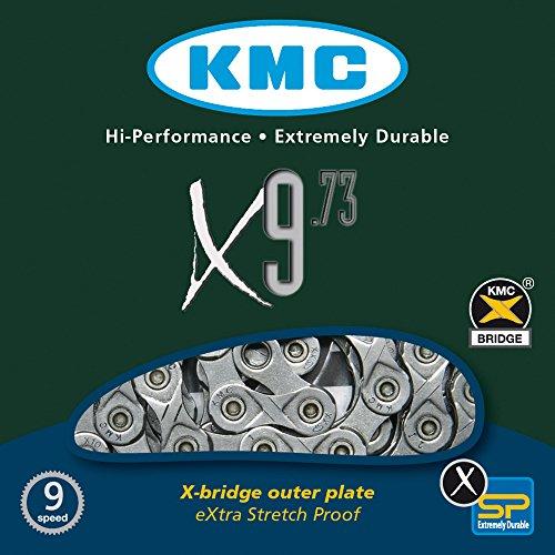 KMC Fahrradkette X 9-73, silver/grey (See-fach)