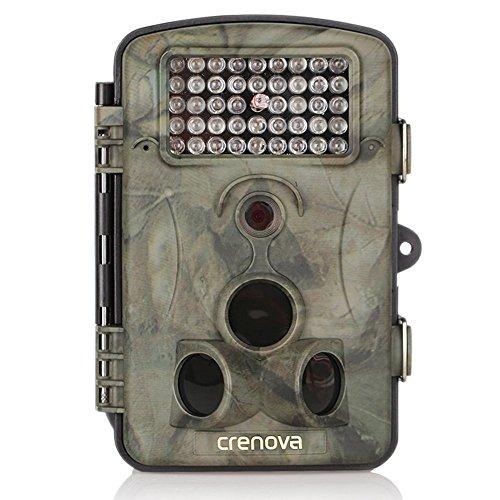 Crenova 12MP 1080P HD Wildkamera 120° Breite...