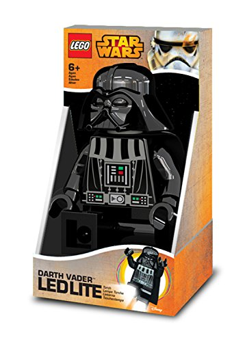(Lego 90029 LED Lampe Star Wars, Darth Vader, 20 cm)