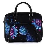 Desigual Bollywood Yale Computer Bag Negro