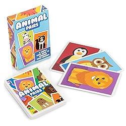 Animal Pairs - Children's Memory Card Game from Tobar