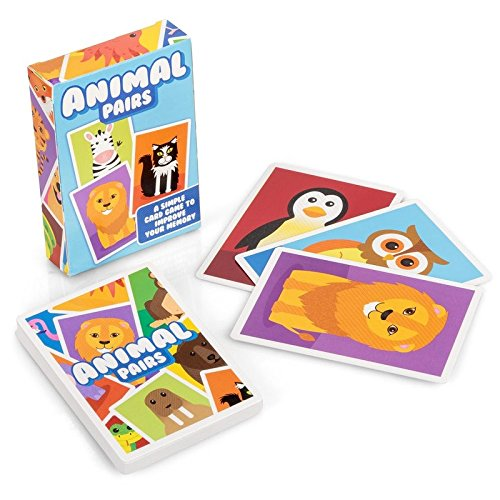 Animal Pairs - Children's Memory Card Game