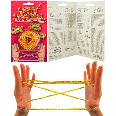 Cat's Cradle 160cm String. The classic retro game. Ideal stocking filler