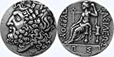 Golden Artifacts Zeus Coin, King of The Gods & Dione, Greek Mythology, Percy Jackson Teen Gift, Percys Uncle. (10-S)
