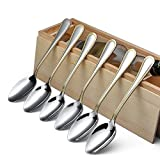 ecohous in acciaio inox cucchiaio da tavola, confezione da 6, Set di posate posate (cucchiaio)