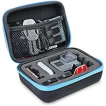 AFAITH Bolsa para cámara deportiva, a prueba de golpes Bolsa de transporte para llevar Bolsa de almacenamiento portátil Caja de almacenamiento para GoPro Hero 5/6-Small GP070