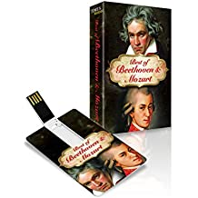 Music Card: Best of Beethoven and Mozart - 320 kbps MP3 Audio (8 GB)