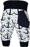 KLEINER FRATZ Baby Pumphose (Farbe Anker-Navy) (Größe 110-122)