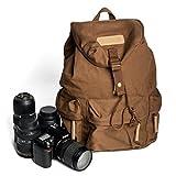 CADeN Appareil Photo Sac à dos Toile Sac à dos étanche Accessoires pour Housses pour appareils photo reflex pour Sony Nikon Canon