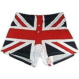 Union Jack Printed Cotton Gents Boxer Shorts - London Souvenir Clothing