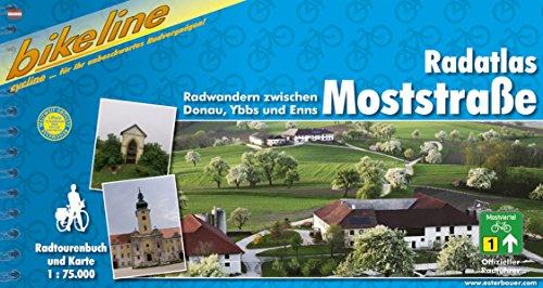 Moststrasse Radatlas Radfahren zwischen Donau, Ybbs und Enns 2007 por Esterbauer