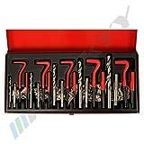 131 pcs Interior - Thread Repair M5-M6-M8-M10-M12 repair like Heli - Coil CGRW131-14