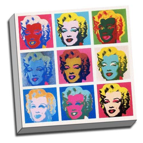 Panther Print Marilyn Monroe Warhol - Cuadro Enmarcado