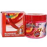 Crème amincissante Crème raffermissante au piment chaud, Crème anti-cellulite, Crème anti-cellulite, Perte de poids anti-cellulite pour les cuisses, les fesses, le ventre, Massage de relaxation