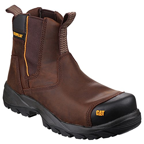 Caterpillar Propane ST S3 Mens Safety Boots Brown Marron
