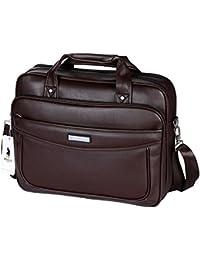 21eee9fa96 VIDENG Polo Leather Laptop Briefcase Shoulder Bag Handbag Large Capacity    Multifunctional Messenger for Business Travelling