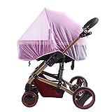 Universal Mückennetz Insektenschutz Moskitonetz für Buggy Kinderwagen Babyschale Mückenschutz Netz Fliegennetz