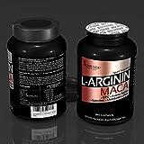 BIOMENTA L-ARGININ + MACA HOCHDOSIERT | 2.000 mg Arginin + 4.000 mg Maca + OPC-Traubenkernextrakt + Zink + Avena Sativa + Spirulina Algen pro Tag | 180 L-Arginin-Maca-Kapseln | Für aktive Frauen & Männer - 4