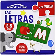 APRENDO EN CASA LAS LETRA PUZLES EDUCATIVOS (3-5 años)