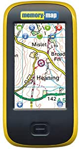 Memory-Map Adventurer 2800 Gps Including Maps - 10.8 X 5.6 X 2cm