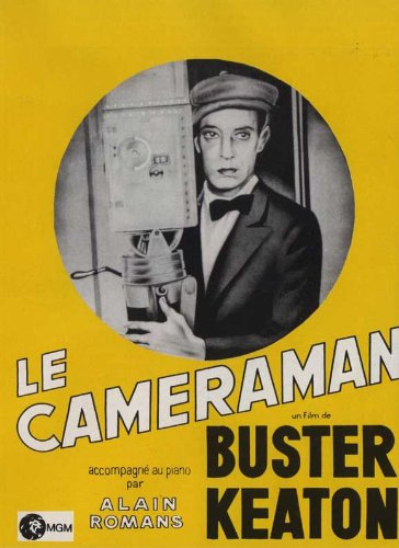 The Cameraman Plakat Movie Poster (11 x 17 Inches - 28cm x 44cm) (1928) French