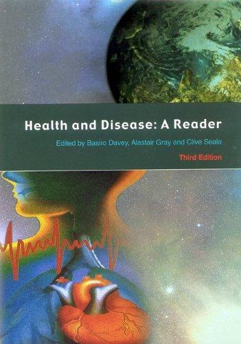 Health And Disease: A Reader (Health & Disease)