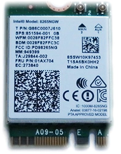 intel-carte-wireless-ac-8265-8265ngw-ngff-adaptateur-reseau-carte-wi-fi-80211-ac-2-x-2-wifi-bluetoot