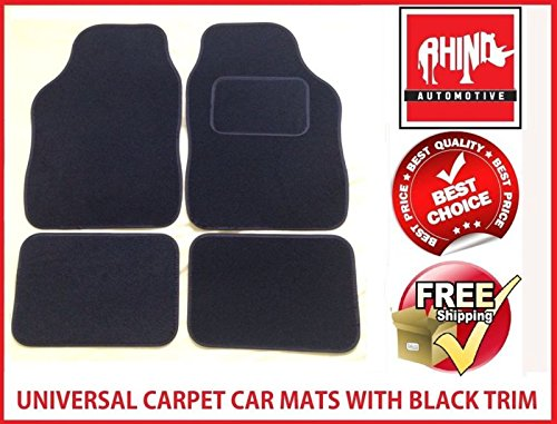 hyundai-sante-fe-06-12universal-schwarz-radkappe-teppich-auto-matte-set